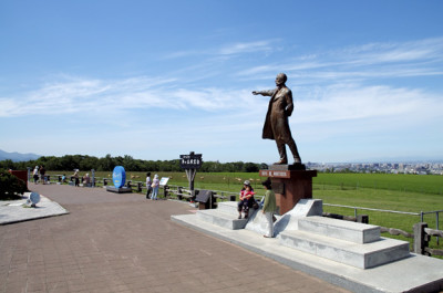 札幌観光におすすめなさっぽろ羊ケ丘展望台の画像