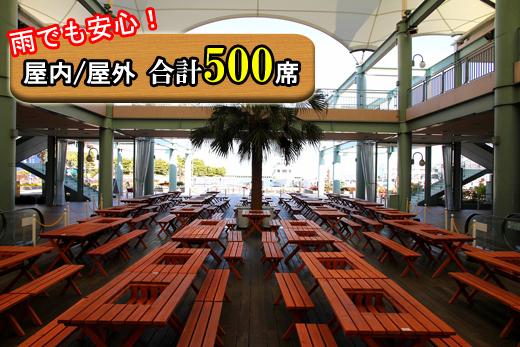 神奈川雨バーベキュー場シーパラダイスの画像