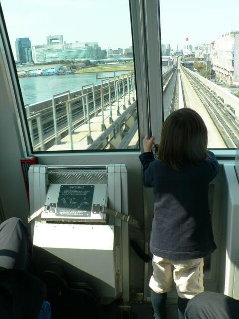 ゆりかもめの一日乗車券で展望席が乗り放題のイメージ画像