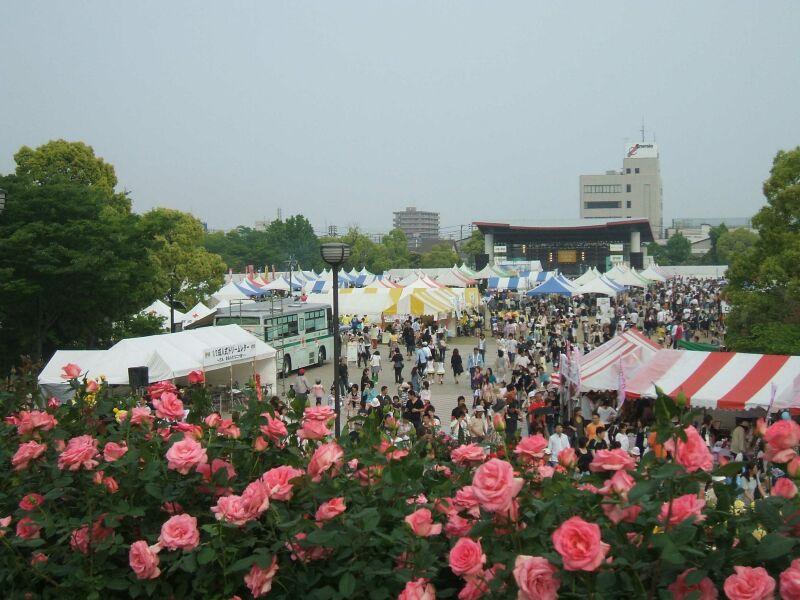 バラ公園福山市の画像