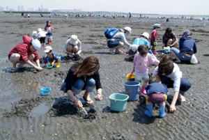 shellfish gathering