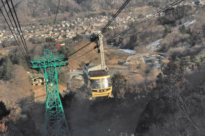長瀞の観光でおすすめスポットの宝登山ロープウェイの画像