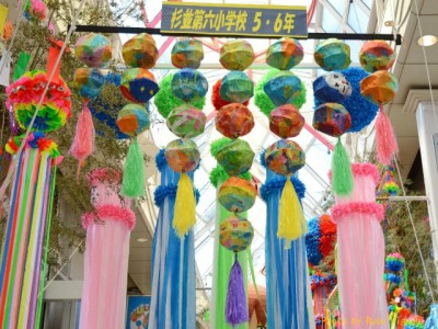 都内の夏祭りで人気のある阿佐ヶ谷七夕まつりの画像01