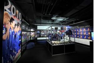 雨でも楽しめる日本サッカーミュージアムの画像