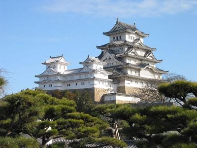 国内の世界遺産、姫路城の画像
