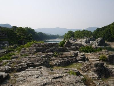 長瀞の観光がおすすめの岩畳の画像