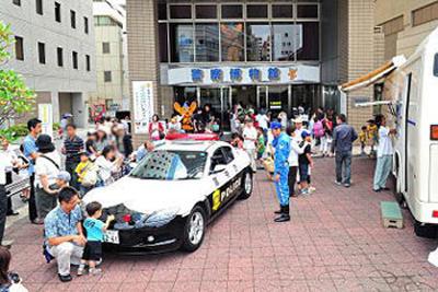 夏休みに子どもと行きたい無料スポット、警察博物館の画像