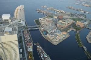 横浜ランドマークタワーのスカイガーデンの画像