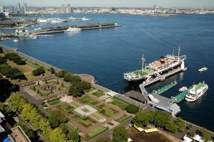 横浜山下公園の画像