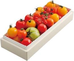 東京のお土産で今人気のスイート、セレブデトマトのトマトの画像