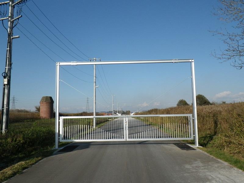 元野幌家畜飼育施設 進入ゲート設置工事
