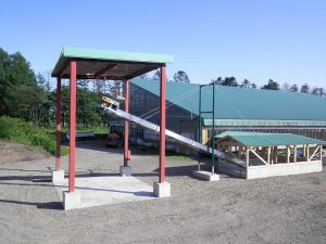 独立行政法人家畜改良センター新冠牧場 バーンクリーナー移設及び改修工事