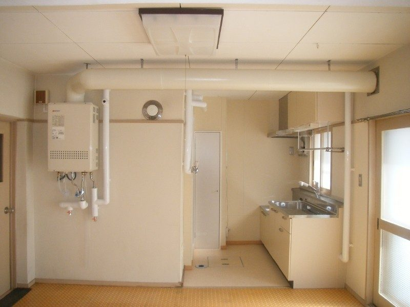発寒宿舎(4)浴室改修竣工写真