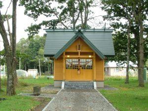 駒里神社新築