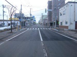 仲の橋通舗装工事