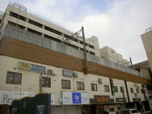 下野幌第2BL防音壁修繕