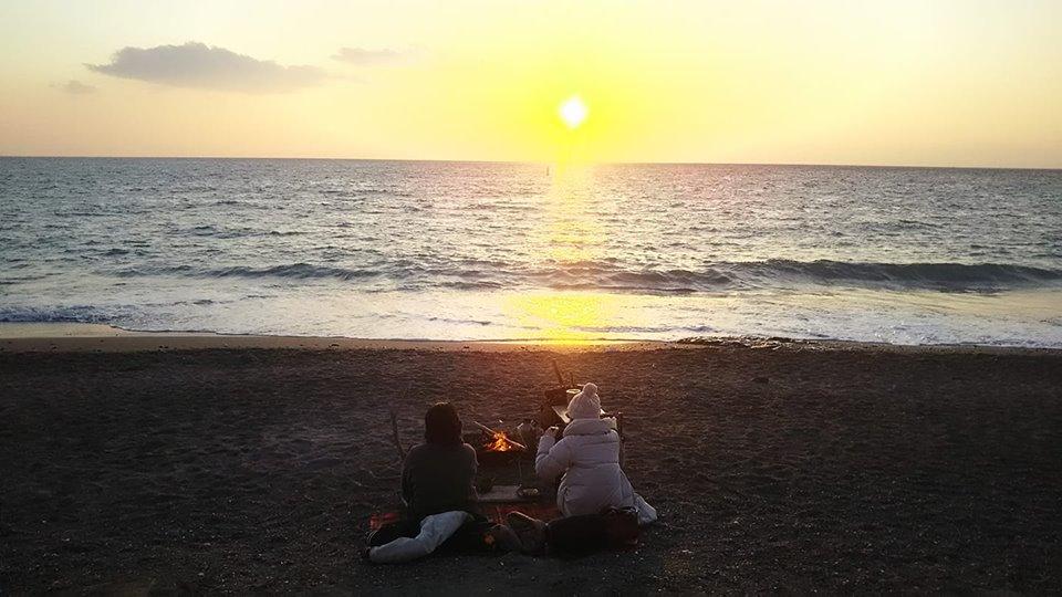 【海を見ながら焚火してみませんか?】