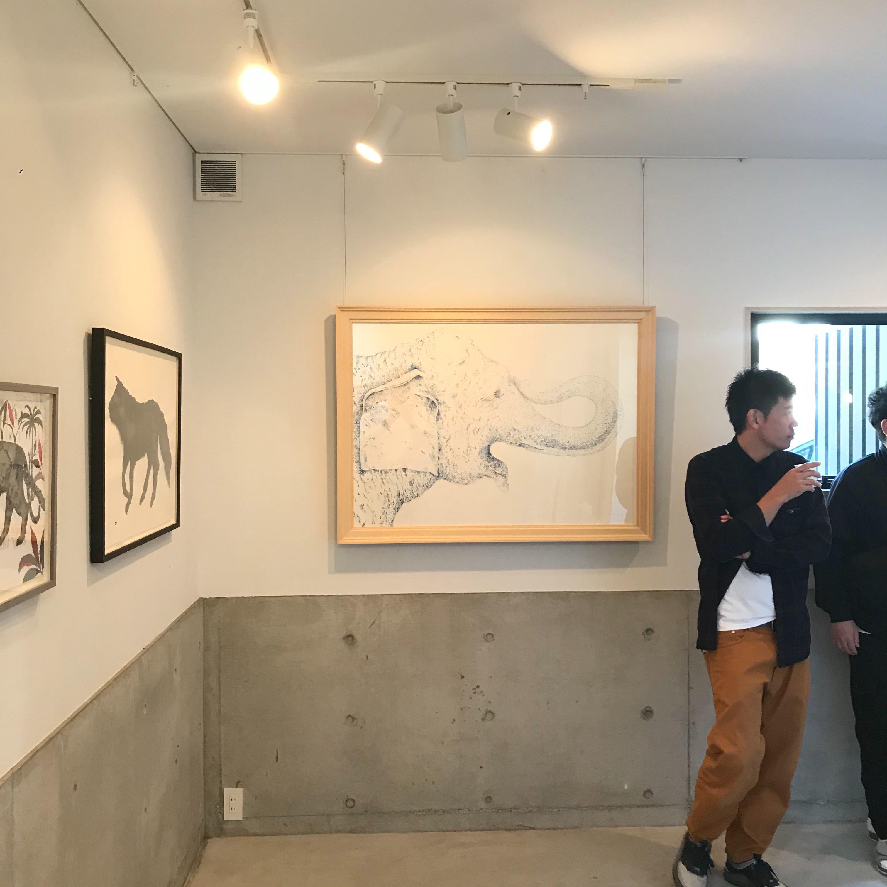 【田中健太郎さんの個展に行ってきました!】