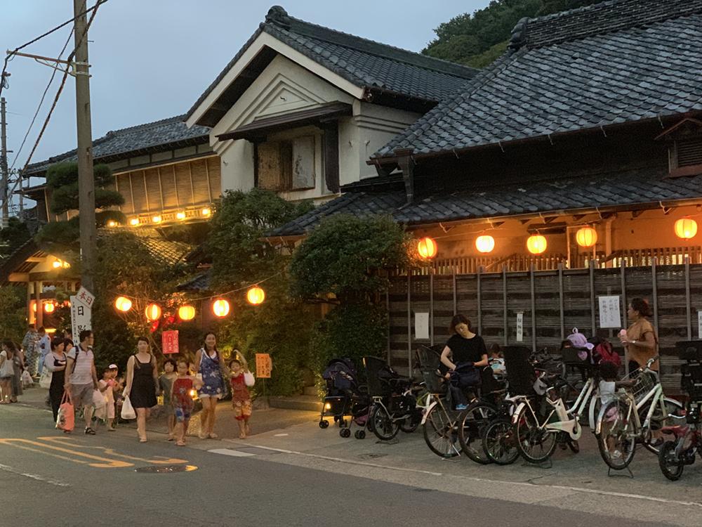 葉山の夏の風物詩 日影祭り