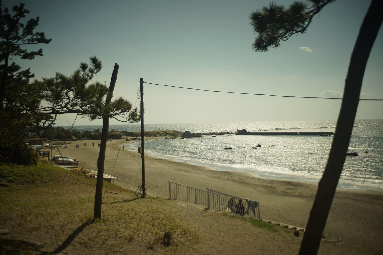 葉山のおすすめの海、一色海岸へ