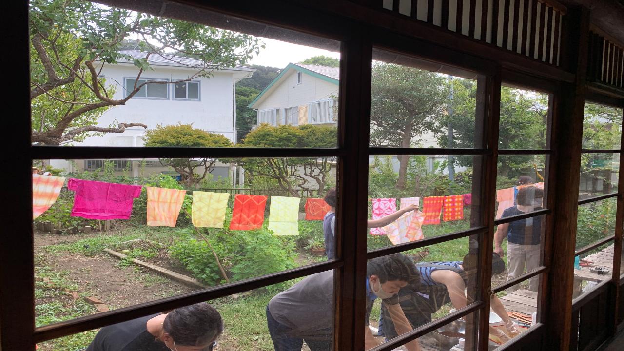 【施設運営レポート】天然染料の草木染め体験