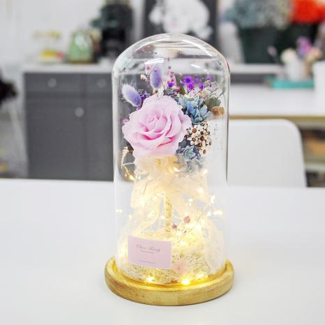 플라워유리돔(LED) 만들기 원데이클래스
