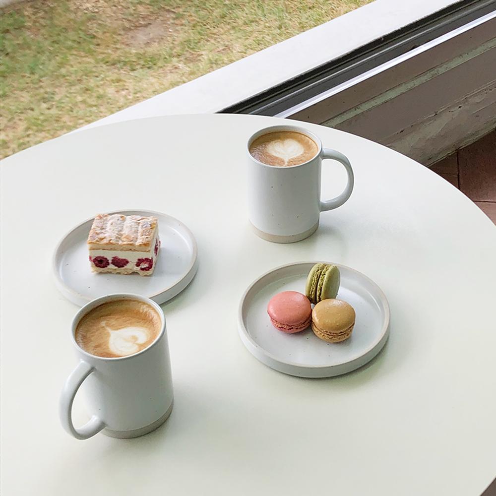 산도 디저트세트 (3color) 디저트접시 빵접시 커피잔