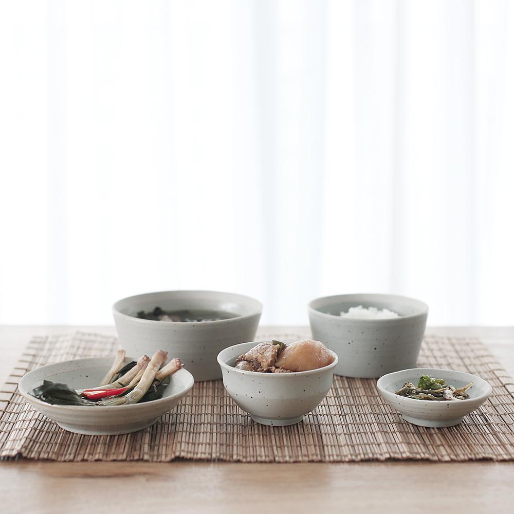 산도 1인 혼밥식기세트 (2color) 1인그릇세트