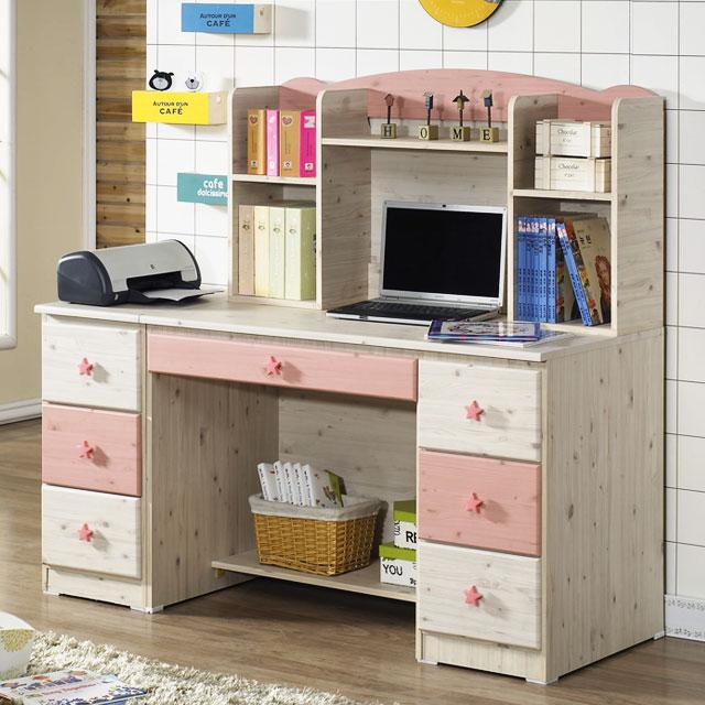 초등학생 책상 공부방 여자아이 초딩 키즈 어린이 책상 세트+서랍장