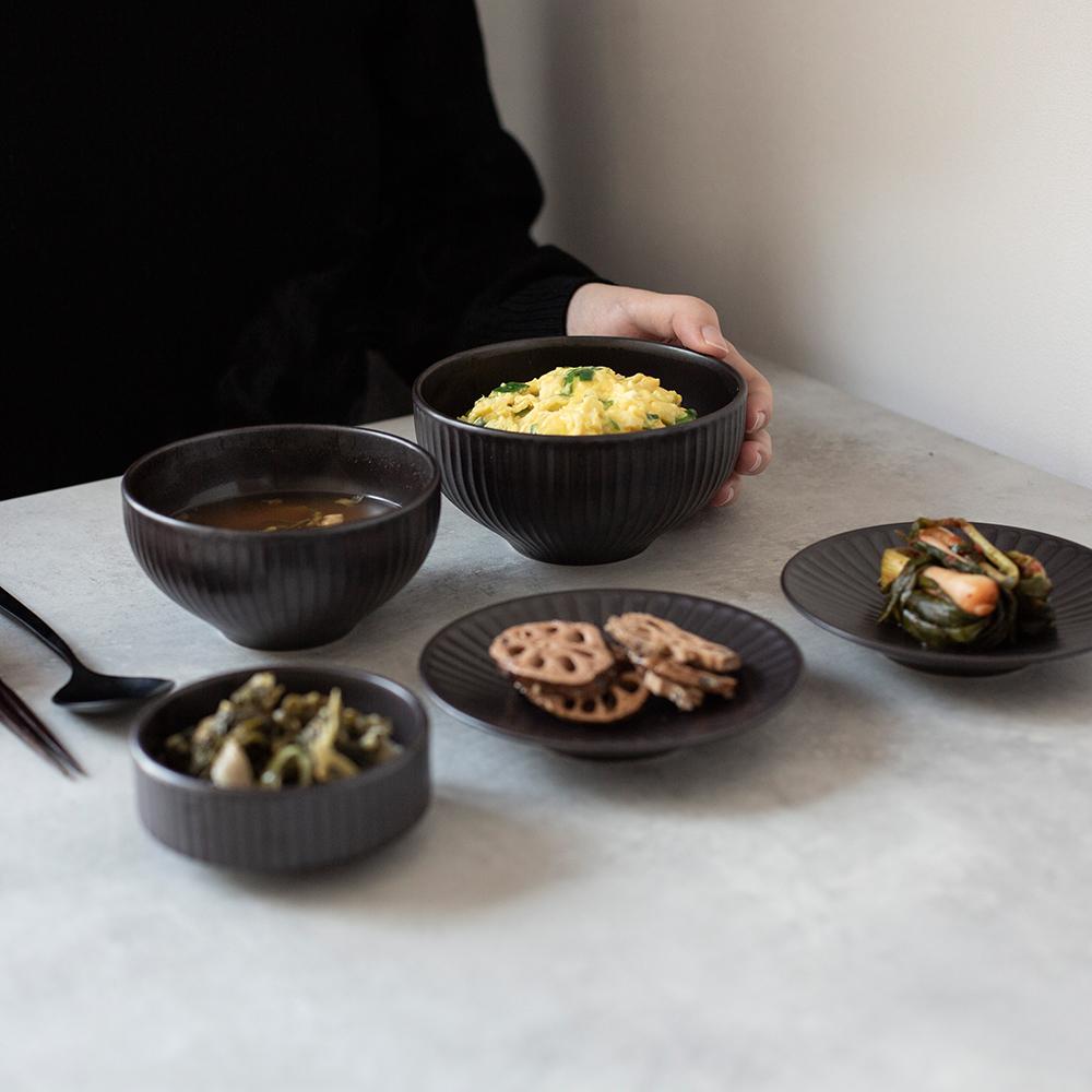 온서 1인 혼밥식기세트 (4color) 1인그릇세트