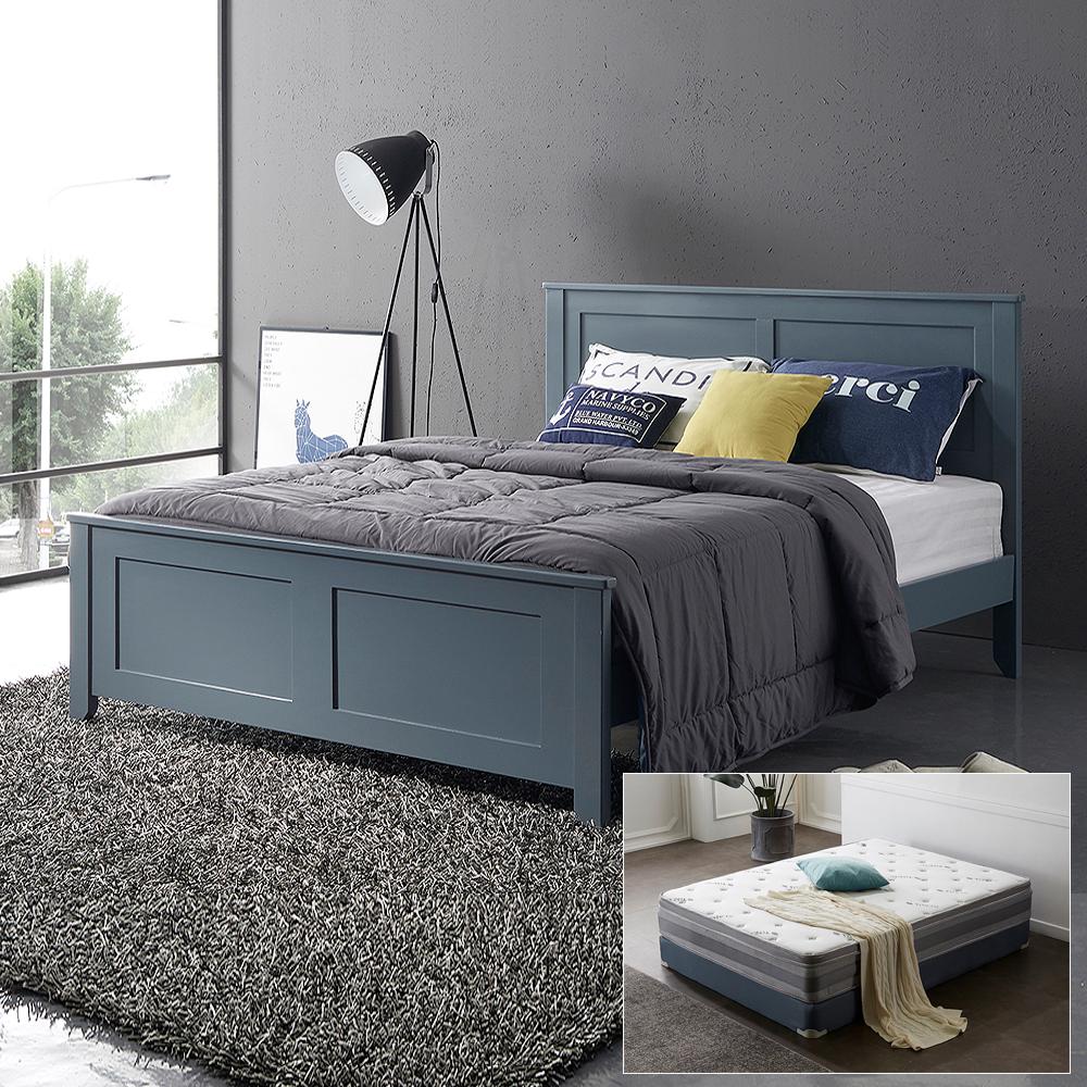 로제 원목 퀸 침대+위너스유로탑매트리스