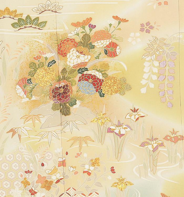 スワトウ刺繍 訪問着 No.AA-0120-Mサイズ_05