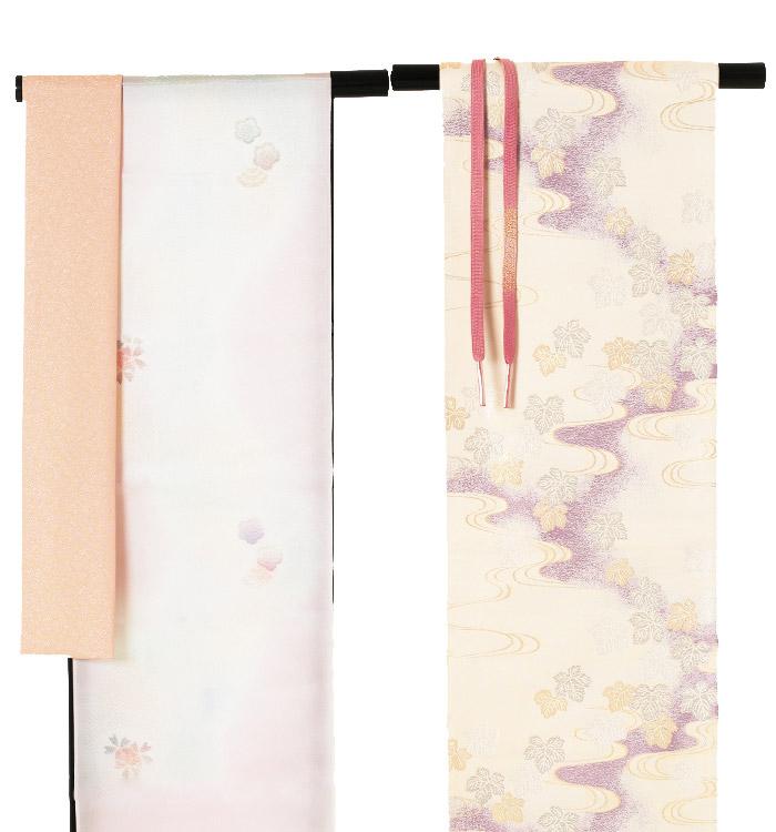 季節の着物「八重桜」 京友禅 訪問着 No.AA-0258-Lサイズ_04