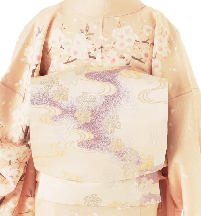季節の着物「八重桜」 京友禅 訪問着 No.AA-0258-Lサイズ_02