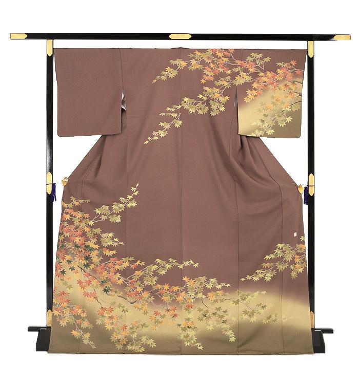 季節の着物「紅葉」 京友禅 訪問着 No.AA-0259-Lサイズ_03