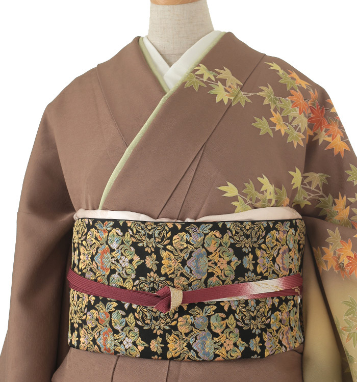 季節の着物「紅葉」 京友禅 訪問着 No.AA-0259-Lサイズ_01
