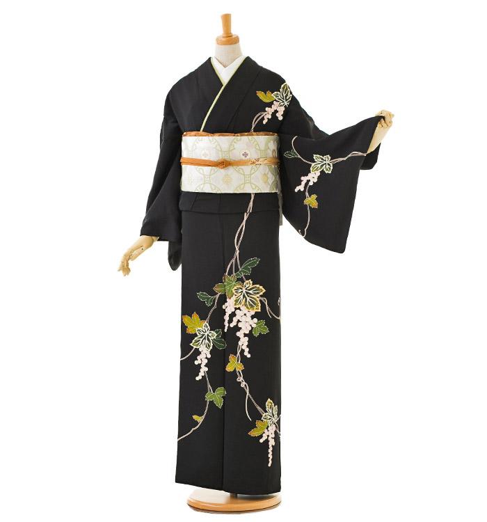 季節の着物「葡萄」 友禅 訪問着 No.AA-0326-Lサイズ