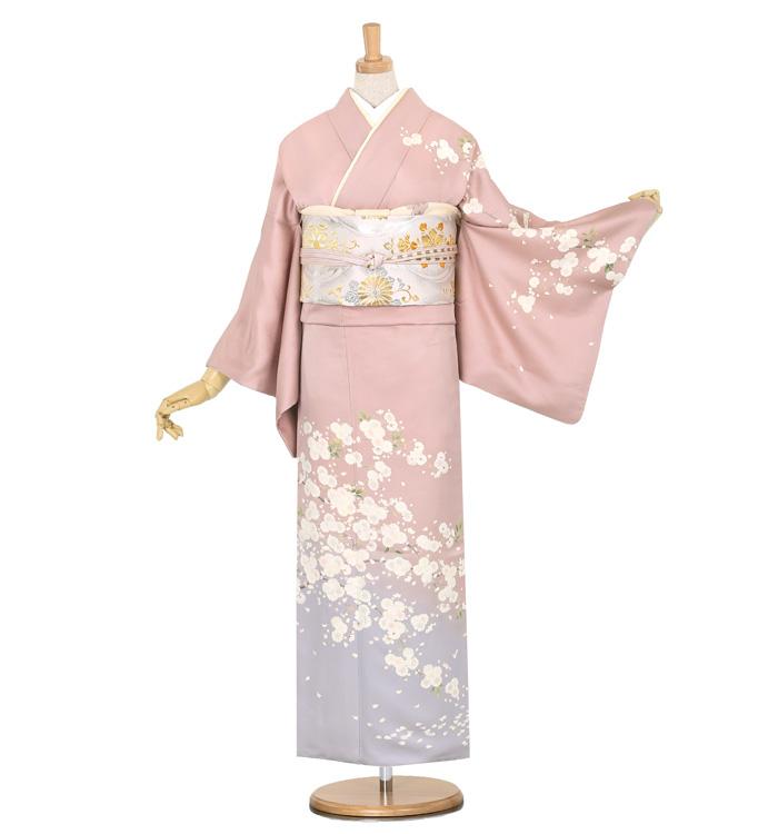 季節の着物「八重桜」 京友禅 訪問着 No.AA-0652-Mサイズ