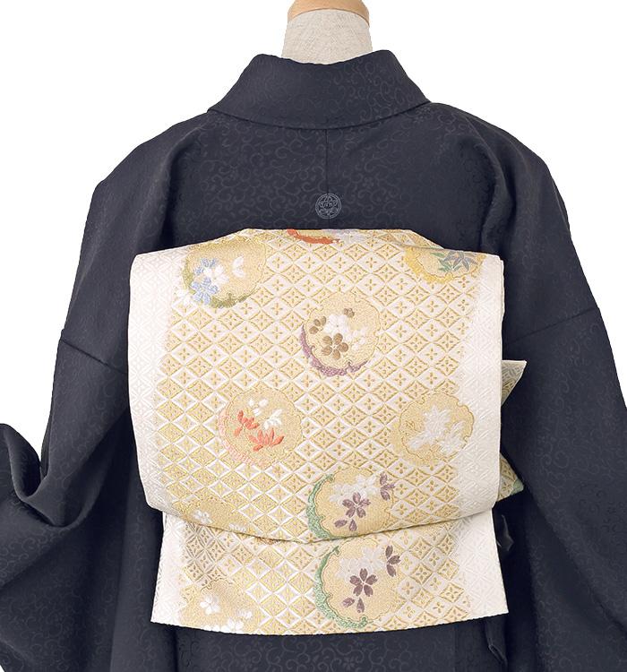 大きいサイズ 山口美術織物 色無地 No.BA-0017-LOサイズ_02
