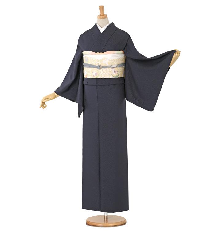 大きいサイズ 山口美術織物 色無地 No.BA-0017-LOサイズ