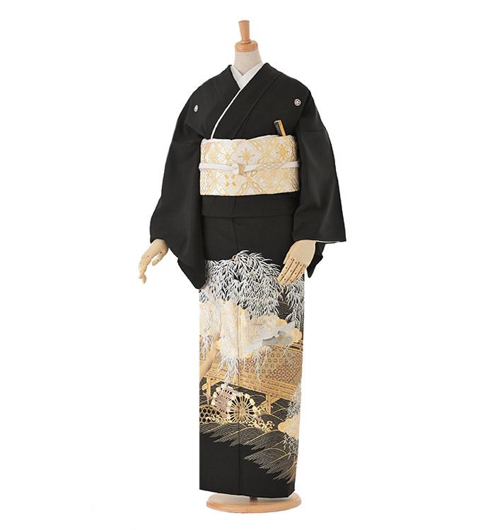 黒留袖 No.CA-0011-Lサイズ