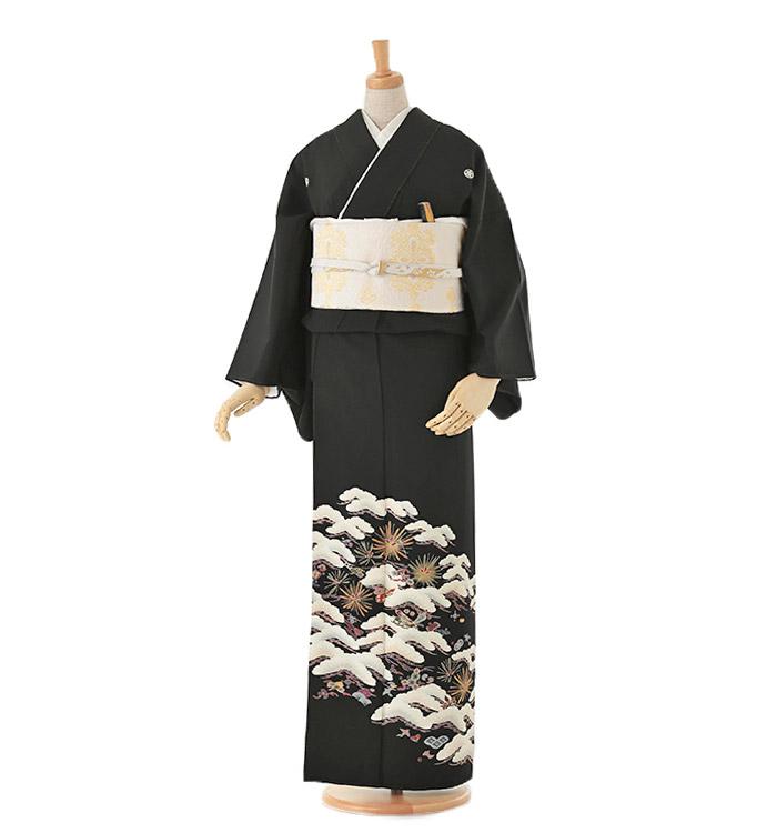 黒留袖 No.CA-0012-Sサイズ