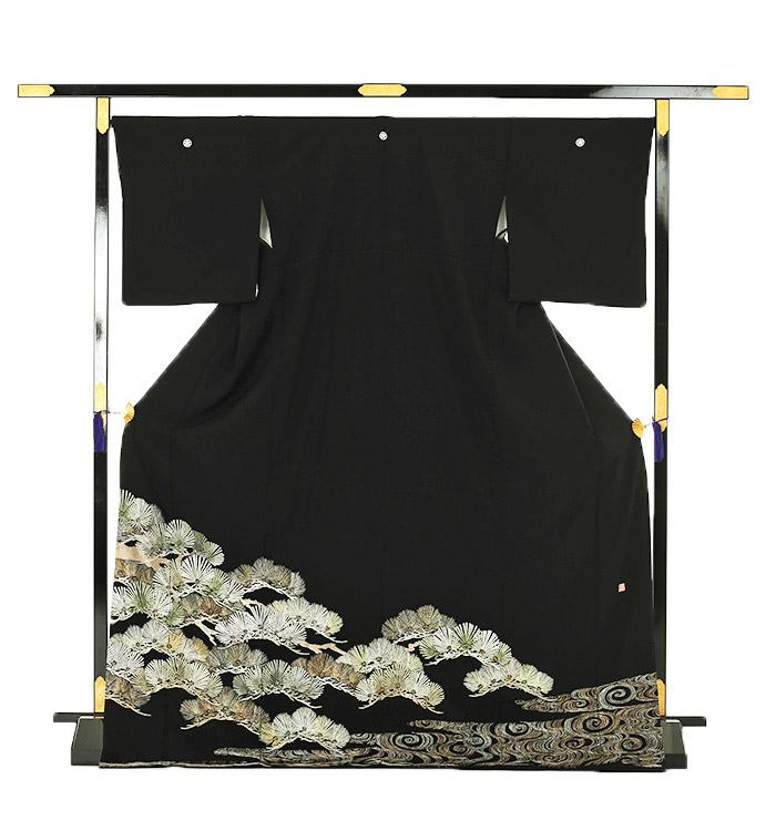 山口美術織物 黒留袖 No.CA-0015-Lサイズ_03