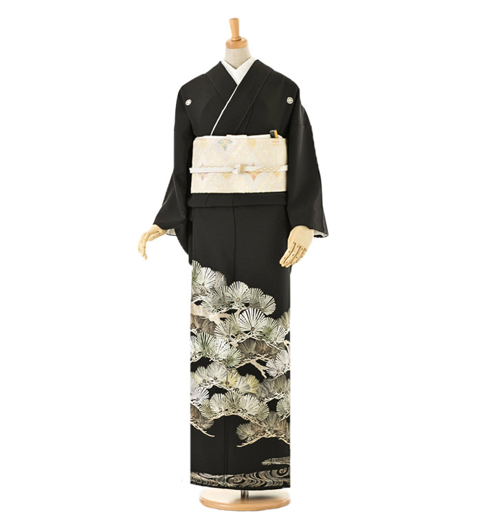 山口美術織物 黒留袖 No.CA-0015-Lサイズ