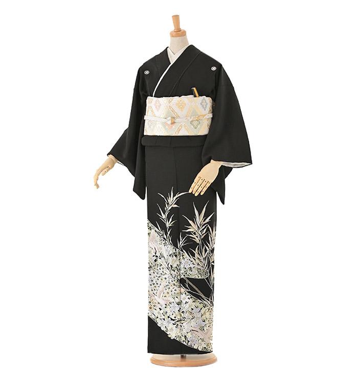 山口美術織物 黒留袖 No.CA-0016-Lサイズ