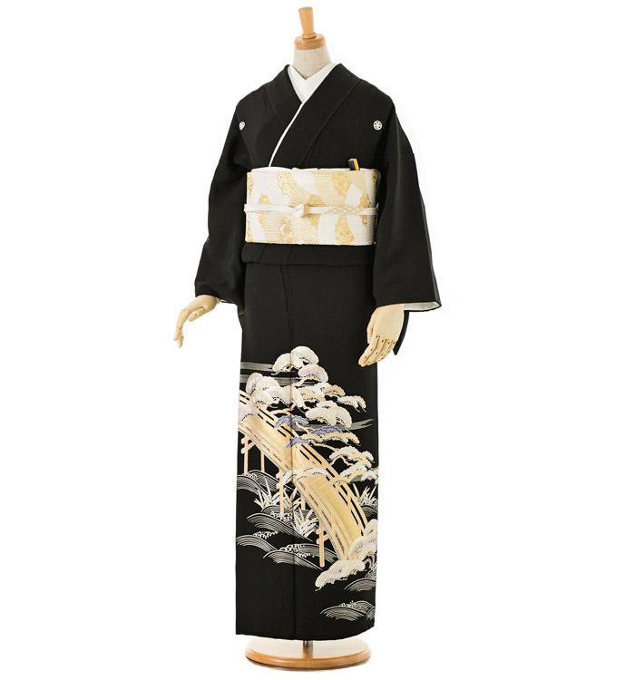 和田光正 黒留袖 No.CA-0018-Lサイズ