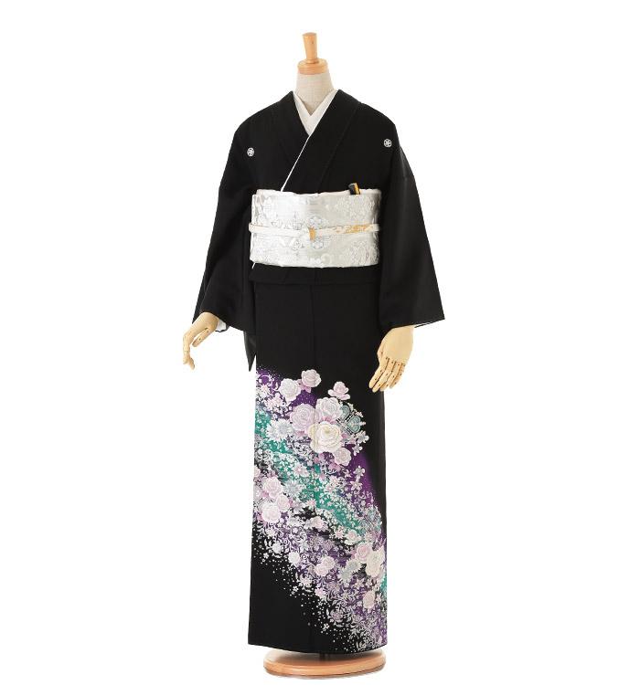 黒留袖 No.CA-0024-Lサイズ