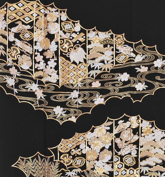 総刺繍 黒留袖 No.CA-0032-Mサイズ_05