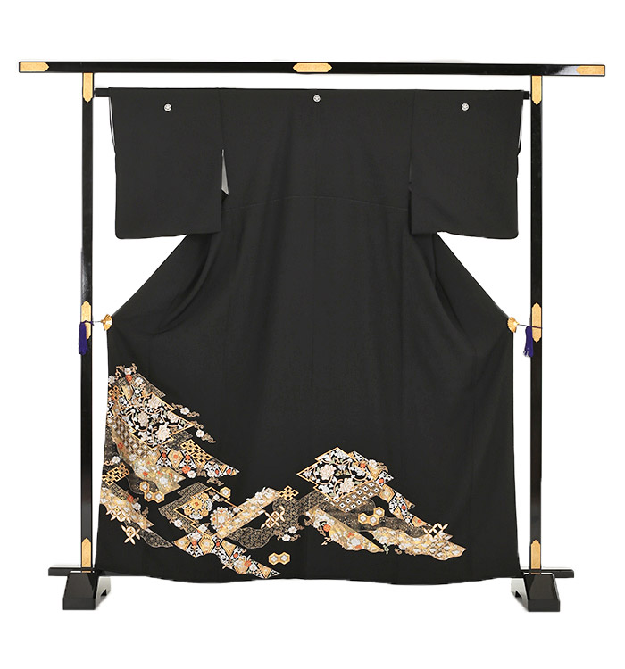 総刺繍 黒留袖 No.CA-0033-Sサイズ_03