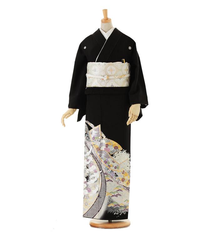 黒留袖 No.CA-0036-Lサイズ